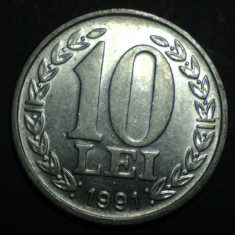 A4365 10 lei 1991 UNC