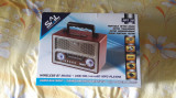 Radio FM-AM-SW cu Player USB-SD si Bluetooth , APARATUL ESTE NOU NOUT !