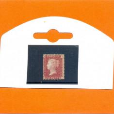 131-ANGLIA-GB-Regina VICTORIA-1858-1869,one penny,nestampilat A-D,plate 200.
