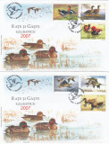 ROMANIA  2007   LP 1771   RATE SI  GASTE  SALBATICE  SERIE  FDC, Stampilat