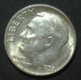 America SUA 1 dime 1953 Argint, America de Nord