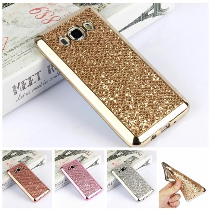 Husa silicon Glitter Samsung Galaxy   J7 2016