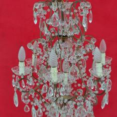 Candelabru cristal