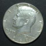 America SUA 1/2 dollar 1968 1 Argint, America de Nord