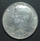 America SUA 1/2 dollar 1967 1 Argint, America de Nord