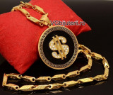 Lant Versace +Pandantiv -DOLLAR- Inox 1015M