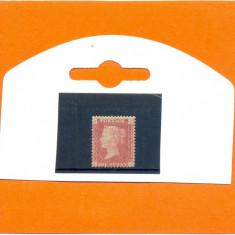 132-ANGLIA-GB-Regina VICTORIA-1858-1869,one penny,nestampilat J-C,plate 94.