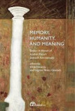 Memory, humanity, and meaning essays in honor of andrei plesu s, Andrei Plesu