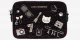 Femei Klassik Pins Cross body, Karl Lagerfeld