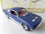 Macheta de colectie Matchbox Collectibles Dinky, Ford Mustang 1967, 2+2 Fastback, 1:43