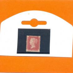130-ANGLIA-GB-Regina VICTORIA-1858-1869,one penny,nestampilat Q-J,plate 90.