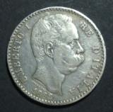 Italia 2 lire 1882 Argint, Europa