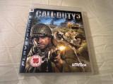 Joc Call of Duty 3, PS3, original, alte sute de jocuri!, Actiune, 18+, Single player, Sony