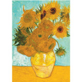 Puzzle Vaza cu flori - Van Gogh, 1000 piese, Ravensburger