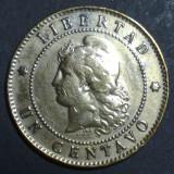 Argentina 1 centavo 1890 2, America Centrala si de Sud