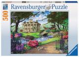 Puzzle In vizita la conac, 500 piese, Ravensburger