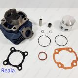 Kit Cilindru - Set motor + Piston + Segmenti Scuter Malaguti F10 80cc racire AER