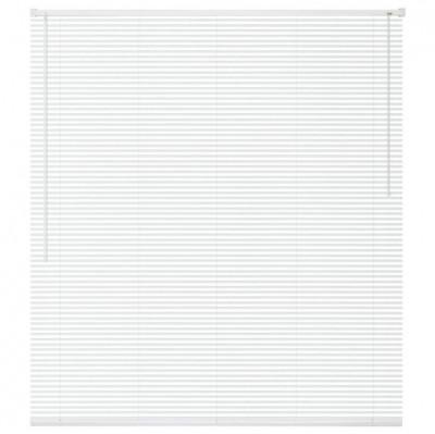 Jaluzele fereastra, PVC, 120 x 160 cm, alb foto