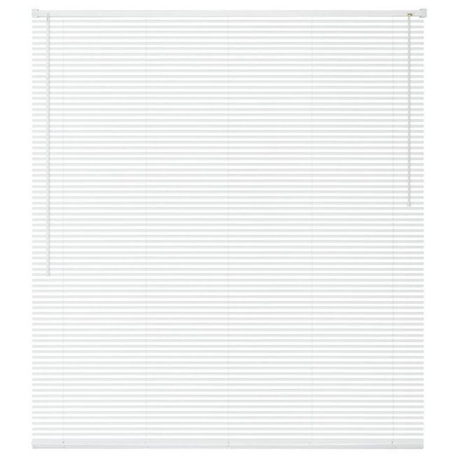 Jaluzele fereastra, PVC, 120 x 160 cm, alb foto mare