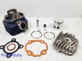 Kit Cilindru - Set motor + Chiuloasa Scuter MBK Flipper 80cc racire AER