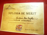 Diploma Universitara din Bacau - Facultatea de Litere si Stiinte 2002