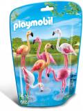 Playmobil City Life - Zoo, Familie de flamingo