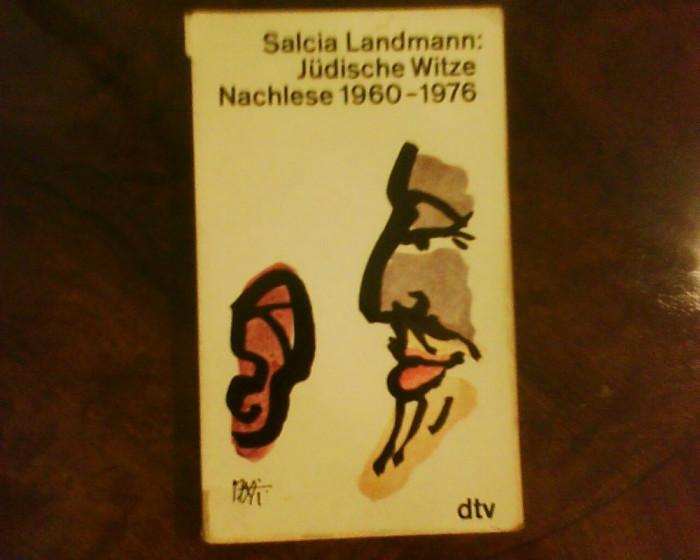 Salcia Landmann: Judische Witze Nachlese 1960-1976
