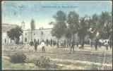 ROMANIA 1911 - TARGU OCNA - PENITENCIARUL DE MUNCA SILNICA, CIRCULATA, G632, Fotografie