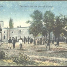 ROMANIA 1911 - TARGU OCNA - PENITENCIARUL DE MUNCA SILNICA, CIRCULATA, G632