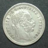 Austria 10 kreuzer 1872 1 XF Argint, Europa