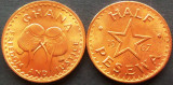 Moneda exotica FAO HALF PESEWA - GHANA, anul 1967    *cod 1316 = UNC!