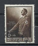 GERMANIA (REICH) 1939 – PORTRET ADOLF HITLER, timbru stampilat, SUPRATIPAR, L51