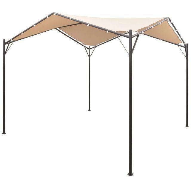 Foi?or pavilion, cort, baldachin, 3x3 m o?el, bej
