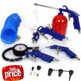 Pistol Vopsit Pentru Compresor, Aer Comprimat,8 Accesorii