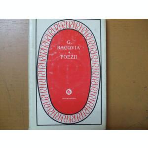 Bacovia George  Poezii Bucuresti 1980