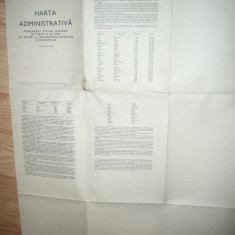 Harta Administrativa RPR 1968- cu propunerile Comisiei Centrale de Partid