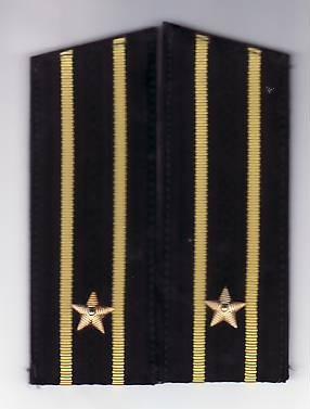 Epoleti      ofiter  marina ( capitan rangul  3  )  URSS unifirma de iarna foto