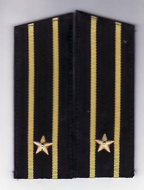 Epoleti      ofiter  marina ( capitan rangul  3  )  URSS unifirma de iarna