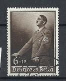 GERMANIA (REICH) 1939 – PORTRET ADOLF HITLER, timbru stampilat, L52