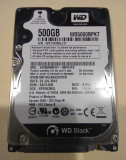 Hard disk hdd laptop 500GB SATA WESTERN DIGITAL Black  2,5 inch 7200 rpm TESTAT, Western Digital