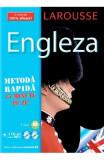 Larousse Engleza - Metoda rapida. Carte + 2 CD