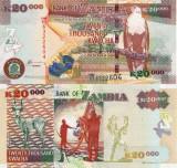 ZAMBIA 20.000 kwacha 2011 UNC!!!