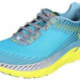Clifton 5 pantofi alergare barbati albastru-galben UK 12