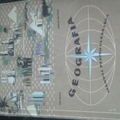 Manual geografie 1963