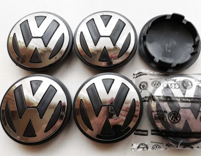 Capacele jante VW Volkswagen Passat Golf 5 6 Jetta Tiguan Touran foto