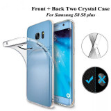 Husa de silicon 360 fata / spate Samsung Galaxy S8 / S8 Plus, Alt model telefon Samsung, Transparent