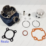 Kit Cilindru - Set motor + Piston + Segmenti Scuter Malaguti F15 80cc racire AER