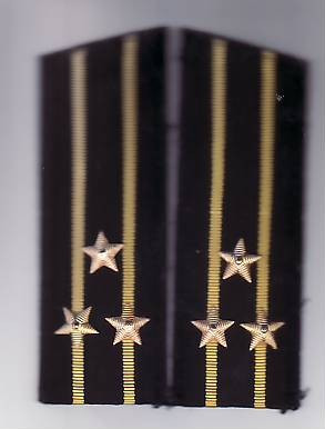 Epoleti      ofiter  marina ( capitan rangul  1 )  URSS unifirma de iarna