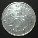 Ungaria 200 forint 1992 1 Argint, Europa