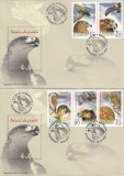 ROMANIA  2007  LP 1760   PASARI  DE  PRADA  SERIE  FDC, Stampilat